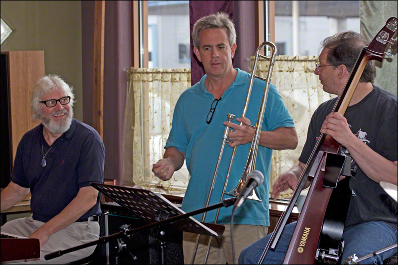 Charlie Saibel, Eric Valley, and Bill Duris: Eric Sets the Tempo