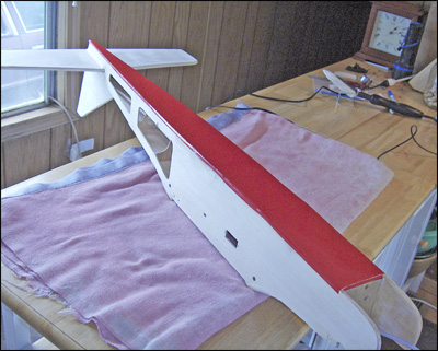 CCovering The Fuselage Bottom