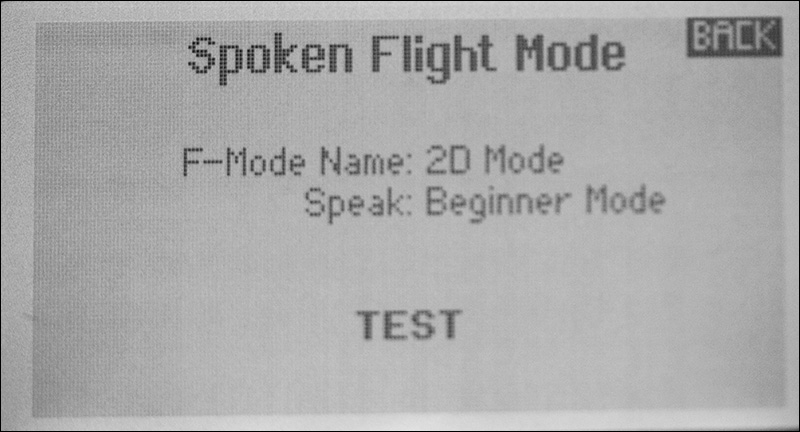 Assign Display and Voice Messages to the Flight Modes