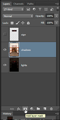 how to add shadows to layer in pixlr