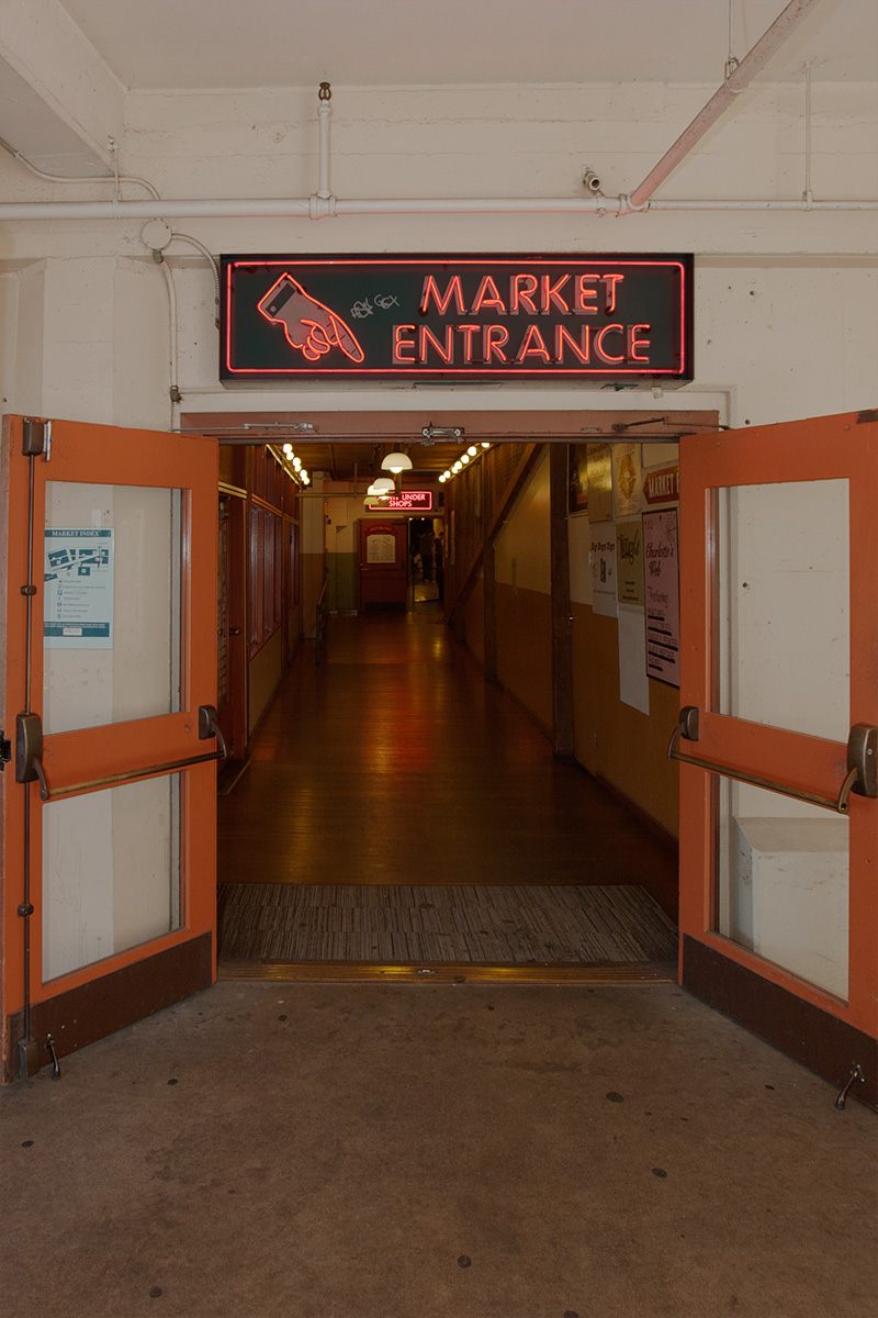 Pike Place Market Lower Entrance