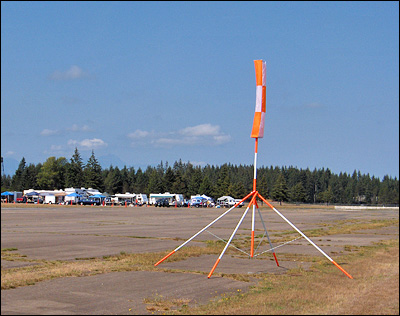 Pylon 2. Camp Ground In The Background.