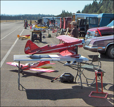 Lots to look at during an SFRCF fly-in